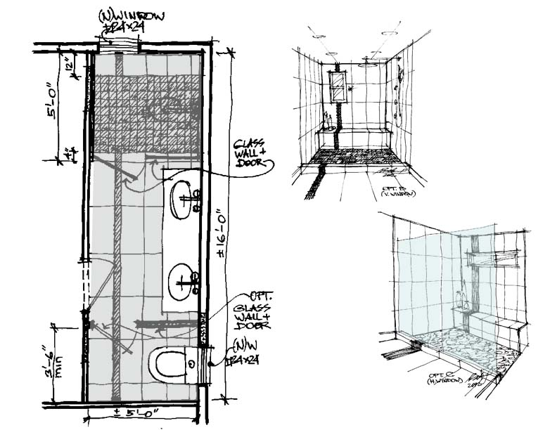 To the rescue design emergency in la part 2 schematic for Bathroom designs drawing